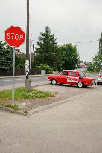 Auschwitz Parking