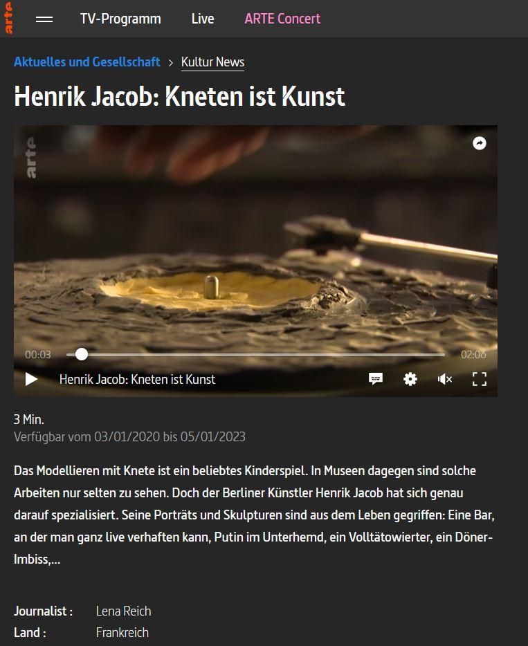 Henrik Jacob und die Kunst des Knetens